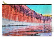Lake Powell With Cliff Reflections Carry-all Pouch
