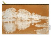 Lake Reflections In Brown Carry-all Pouch