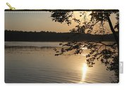 Lake Side Sun Set Carry-all Pouch