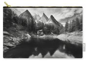 Lake Verde In The Alps IIi Carry-all Pouch