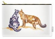 L'amour - Cats In Love Carry-all Pouch