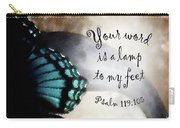 Lamp To My Feet Carry-all Pouch