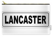 Lancaster City Nameplate Carry-all Pouch