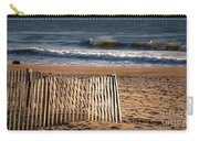 Landscape Jersey Shore Ocean Fence  Carry-all Pouch