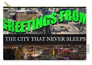 Las Vegas The City That Never Sleeps Custom Pc Carry-all Pouch
