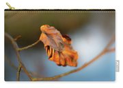 Last Leaves Of Autumn Carry-all Pouch by Scott Lyons