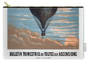 Le Ballon Aeronautical Journal, 1883 French Poster Carry-all Pouch