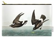 Least Stormy Petrel, Thalassidroma Pelagica By Audubon Carry-all Pouch