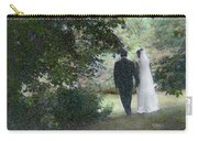 Leaving The Wedding Carry-all Pouch by Wayne King