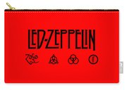 Led Zeppelin Z O S O - Transparent T-shirt Background Carry-all Pouch