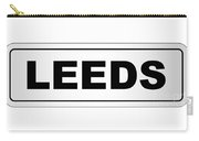 Leeds City Nameplate Carry-all Pouch