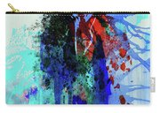 Legendary Mick Jagger Watercolor Carry-all Pouch