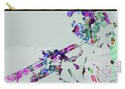 Legendary Miles Davis Watercolor Carry-all Pouch