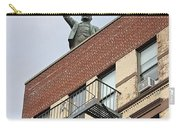 Lenin Statue In East Village N Y C Carry-all Pouch