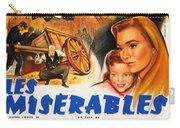 Les Miserables 1958 French Movie Classic Carry-all Pouch