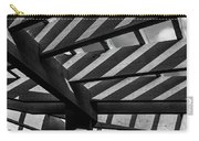 Light And Shadow Abstract Carry-all Pouch