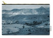 Light And Shadow In West Dakota Carry-all Pouch
