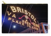 Lighting Up The Bristol Sign Carry-all Pouch