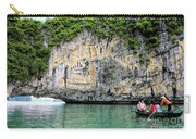 Limestone Arch Ha Long Bay Vietnam  Carry-all Pouch
