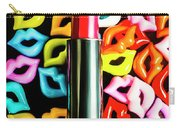 Lipstick Lips Carry-all Pouch