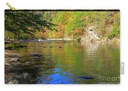 Little River In Autumn In Smoky Mountains National Park Carry-all Pouch