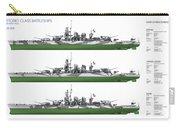 Littorio Class Battleships Port Side Carry-all Pouch
