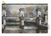 Ljubljana River Barrier  Carry-all Pouch