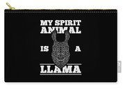Llama Is My Spirit Animal Funny Carry-all Pouch