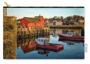 Lobster Traps, Lobster Boats, And Motif #1 Carry-all Pouch by Jeff Sinon