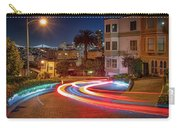 Lombard Street And The Bay Bridge Carry-all Pouch