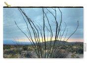 Lone Bush - Sunrise Carry-all Pouch