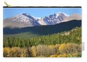 Longs Peak In The Fall Carry-all Pouch
