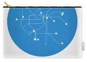 San Francisco Blue Subway Map Carry-all Pouch