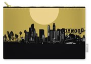 Los Angeles Skyline Minimalism Yellow Carry-all Pouch