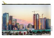 Los Angeles Skyline Sunset - Panorama Carry-all Pouch