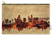 Los Angeles Skyline Vintage Carry-all Pouch