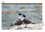 Love Birds Carry-all Pouch by Dheeraj Mutha