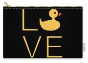 Love Ducks Super Cute And Very Fun Love Gift Idea Design Carry-all Pouch