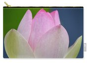 Lovely Soft Lotus Carry-all Pouch