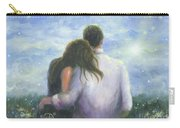 Lovers Looking Forward Brunettes Carry-all Pouch