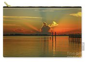 Low Flying Pelican Sunrise Carry-all Pouch