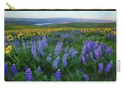 Lupines At Sunrise Carry-all Pouch