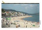 Lyme Regis Beach Carry-all Pouch