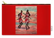 Maasai Dancers Carry-all Pouch