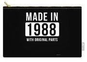 Made In 1988  Carry-all Pouch