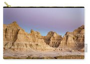 magenta Dawn in the Badlands  Carry-all Pouch