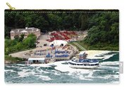 Maid Of The Mist Tour Boat At Niagara Falls Carry-all Pouch by Rose Santuci-Sofranko