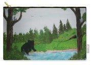 Maine Black Bear Carry-all Pouch