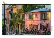 Maison Rose Evening II Carry-all Pouch by Brian Jannsen