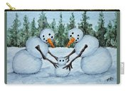 Making A Snowbaby Carry-all Pouch